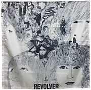 The Beatles Revolver Fabric Poster Flag Tapestry 4x4ft Banner