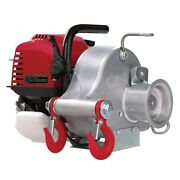 Portable Winch Gas-powered Portable Capstan Winch Power Of 1550lbs