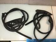 10-17 Audi A5 Quattro Convertible Right And Left Door Surround Weather-strip Seals