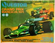 Questor Grand Prix 1971 With Artwork By Dale King Ontario Motor Speedway