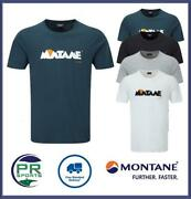 Brand New 2021 Montane Mens Heritage 1993 Outdoor Cotton T-shirt
