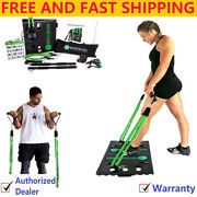 Bodyboss Home Gym 2.0 - Full Portable Gym Home Workout Package Extra 4 Bands