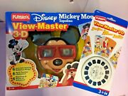 Disney View Master 3-d Mickey Mouse + Pato Aventuras Duck Tales. Playskool