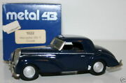 Western Models 1/43 Prototype Metal 43 - 1022 - Mercedes 30 S Coupe - Blue