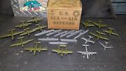 Marx Miniature Play Set Rare Mail Order Only Accessory Pack Navy/air Force W/box