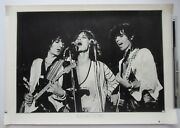 Rolling Stones Official Japan Warner Pioneer Promo Only 1970s Poster More Listed