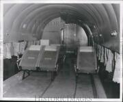 1960 Press Photo Good Year Aircraft With Energy Absorbing Aerothem Seats