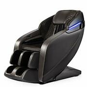 Massage Chair Zero Gravity And Shiatsu Recliner With Bluetooth Led Gray1
