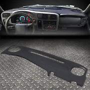 For 98-02 Chevy S10 Blazer Pickup Gmc S15 Jimmy Front Dash Board Cap Cover Pad