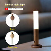 Led Infrared Sensor Night Light Usb Rechargeable Wall Lamp For Bedside Wardrobe
