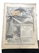 1926 Watchtower Magazine Jehovah Bible Students Ibsa April 1st Issue