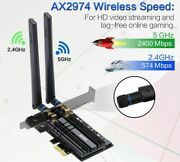 3000mbps Wifi 6 Intel Ax200 Pcie Wireless Adapter 2.4g/5ghz Bluetooth Card Pc