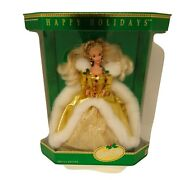 New Vintage 1994 Happy Holidays Barbie Special Edition Mattel 12155 0403