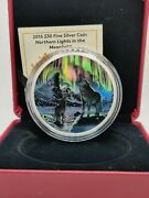 2016 Northern Lights Moonlight Wolf 30 2oz Pure Silver Coin Canada