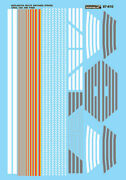 Microscale 87610 Decal H0 - Chicago Burlington And Quincy Switcher Stripe 87-610