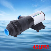 45 Lpm 12gpm Macerator Waste Water Sewage Pump 12v Quick Release Mount For Rv
