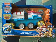 New Paw Patrol Dino Rescue Patroller Motorize Team Vehicle Exclusive Chase T-rex