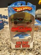 Hot Wheels Holiday Hot Rods 3 Pack Target Exclusive Olds 442 Sweet 16 Impala