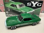 1/18 Gmp 1968 Chevrolet Yenko Syc Green Camaro Made By Supercars G1800327 New