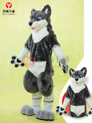 2020 Fursuit Fox Dog Mascot Costume Suits Cosplay Party Game Ad