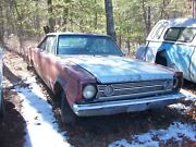 1966 Plymouth Belvedere Ii 2dr Ht 383 4sp No Paperwork Salvage Parts Car