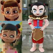 Nezha Mascot Costume Suits Cosplay Party Outfits Carnival Xmas Easter Adults New