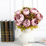 Peony Artificial Flowers Fake Silk Home Wedding Party Christmas Decoration 2020