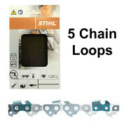 5 X 14 Stihl Chains Ms201 Ms210 Ms211 Ms230 And Ms231 Chainsaw 50dl 3636 000 0050