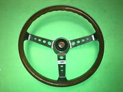 F.i.v. Secura Fiat 850 125 1100r And Others Wood Steering Wheel 257 Nos Rare