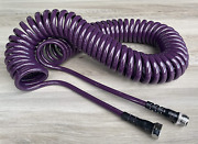 Water Right 300 Series 3/8 Coil Garden Hose Drinking Water Safe 50-foot Lead...