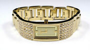 Dkny Ny4416 Women's Crystal Collection Gold Tone Stainless Steel Watch