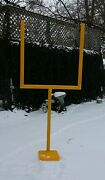 Football Uprights For Kids Heavy Plastic-8 Feet Tall. Perfect For Backyard Play