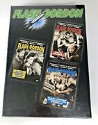 Flash Gordon - Space Soldiers/trip To Mars/conquers The Universe Dvd, 2000,...