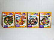Lot 4 Scooby Doo, Dora The Explorer, Cars And Imaginext Game Fisher Price Ixl