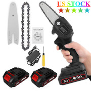 4 Inch Bar Mini Chainsaw Super Lightweight One-handed Tool For Small Garden Work