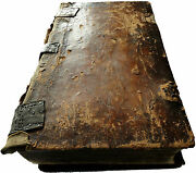 1782 Life Of Saints 5kg Russian Orthodox Church Old Russia Antique Wood Leather