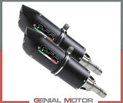 2 Exhaust Mufflers Gpr Qy Furore Nero Appro Ducati Supersport Ss 750 1999 2002