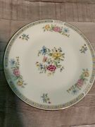 Liling Fine China Yung Shen Ling Rose Dinner Plates