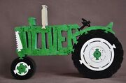 Green Oliver Antique Farm Tractor New Wood Toy Puzzle Hand Made Usa