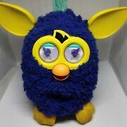 Furby Hasbro 2012 Blue Yellow A3123/39834 Some Signs Of Use Tested Working Toys
