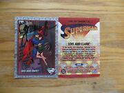 1993 The Return Of Superman Card 99 Lois And Clark Signed By Tom Grummett