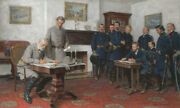 Tom Lovell Surrender At Appomattox Limited Edition Canvas Numbered Americana