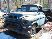 1956 56 Gmc Blue Chip Truck 6cyl 3 Spd 8 Lugs No Paperwork Salvage Parts Car