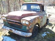 1959 59 Gmc Blue Chip Short Bed Truck 6cyl, 3spd, No Paperwork Salvage Parts Car