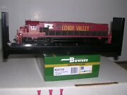 Bowser 24726 Lehigh Valley C-628 Diesel Loco 635 Cornell Red W/dcc And Sound
