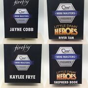 Firefly Loot Crate Mini Masters Complete Set