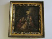 Finest 19th Century Masterful Painting Adolphe Joseph Thomas Monticelli French