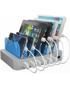 Hercules Tuff Charging Station For Multiple Device With 6 Usb Fast Ports