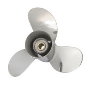 13 X 17-k Ome Stainless Steel Outboard Prop Fit Yamaha 60-115hp 688-45930-01-98
