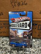 Hot Wheels - Boulevard- 69 Chevy Camaro - Limited Edition - Rr Tires-htf -new